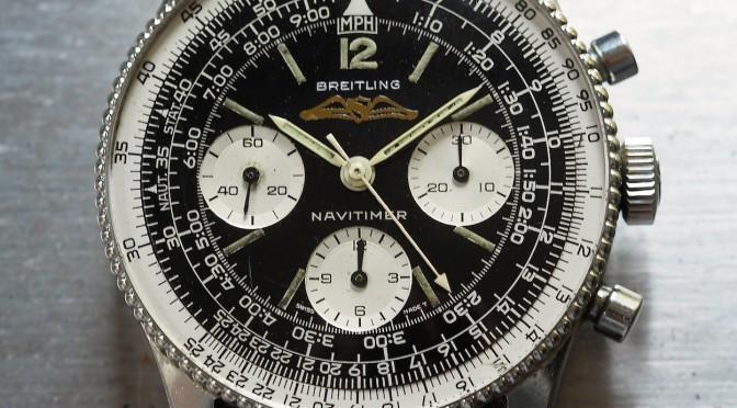 Breitling Navitimer 806 head on
